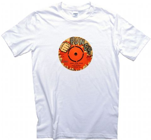 Pama Records Punch Record Label T shirt Mens, Ladies Sizes. Max Romeo Reggae